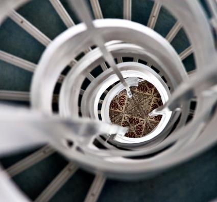 Tinos Beach Hotel Staircase